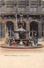 sub013963 - Fountain     Rathaus zu Hamburg Postcard