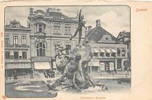 sub013967 - Fountain        Teichmanns Brunnen Postcard