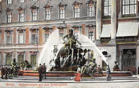 sub013979 - Fountain             Berlin, Begasbrunnen auf dem Schlossplatz Postcard