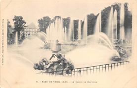 sub013983 - Fountain, Parc De Versailles Le Bassin De Neptune Postcard