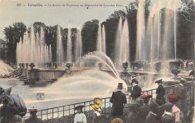sub013985 - Fountain                 Versailles, Le Bassin De Neptune Postcard