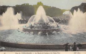sub013987 - Fountain                           Parc de Versailles, Le Bassin de Latone et le Tapis Vert Postcard