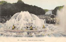 sub013989 - Fountain   Versailles, Bassin de Latone et Tapis-Vert Postcard