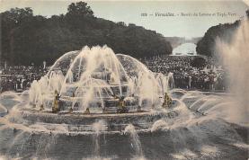 sub013991 - Fountain   Versailles, Bassin de Latone et Tapis-Vert Postcard