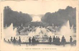 sub013993 - Fountain   Parc de Versailles, Le Bassin de Latone et le Tapis Vert Postcard