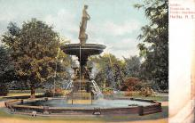 sub013997 - Fountain   Jubilee, Public Gardens, Halifax. N.S. Postcard
