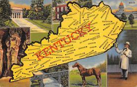 sub014031 - Kentucky USA Postcard