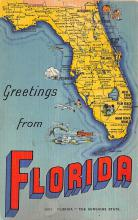 sub014033 - Greetings from Florida USA Postcard