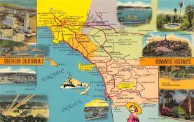 sub014039 - Southern California's Romantic Highways USA Postcard
