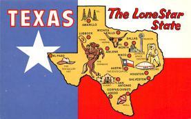sub014041 - Texas   The Lone Star State, USA Postcard