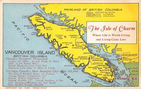 sub014045 - Vancouver Island, British Columbia USA Postcard