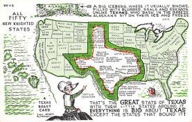 sub014049 - Texas USA Postcard