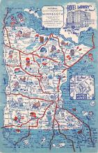 sub014063 - Pictorial Quick Mileage, Minnesota USA Postcard