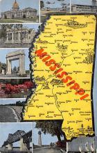sub014069 - Mississippi USA Postcard