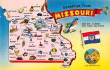 sub014081 - Greetings from Missouri USA Postcard