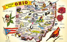 sub014083 - Greetings from Ohio USA Postcard