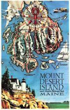 sub014087 - Mount Desert Island, Maine USA Postcard