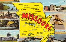 sub014091 - Missouri USA Postcard