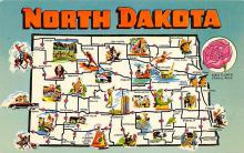 sub014095 - North Dakota USA Postcard