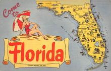 sub014115 - Come to Florida USA Postcard