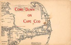 sub014117 - Come Down on Cape Cod MA USA Postcard