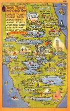 sub014133 - Colorful Florida's Most Colorful Spots USA Postcard