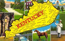 sub014157 - Kentucky USA Postcard