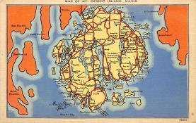 sub014163 - Mt. Desert Island, Maine USA Postcard