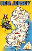 sub014179 - New Jersey USA Postcard