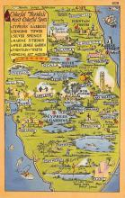 sub014209 - Colorful Florida's Most Colorful Spots USA Postcard