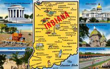 sub014219 - Indiana USA Postcard
