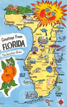 sub014227 - Greetings from Florida USA Postcard