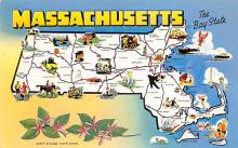 sub014229 - Massachusetts USA Postcard