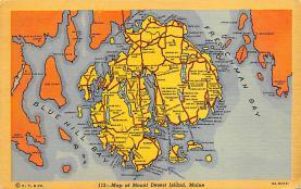 sub014235 - Mount Desert Island, Maine USA Postcard