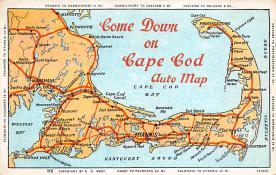 sub014237 - Come Down on Cape Cod USA Postcard