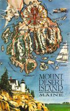 sub014239 - Mount Desert Island, Maine USA Postcard