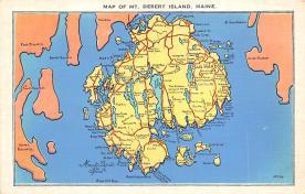 sub014241 - Mount Desert Island, Maine USA Postcard