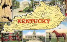 sub014253 - Kentucky USA Postcard