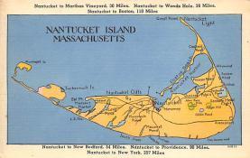 sub014257 - Nantucket Island, Massachusetts USA Postcard