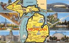 sub014259 - Michigan   USA Postcard