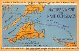 sub014261 - Martha's Vineyard, Nantucket Islands USA Postcard