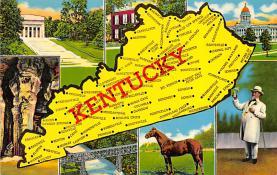 sub014265 - Kentucky USA Postcard