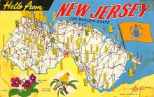 sub014267 - New Jersey, The Garden State USA Postcard