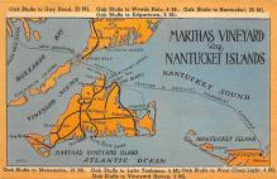 sub014275 - Martha's Vineyard, Nantucket Islands USA Postcard
