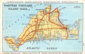 sub014297 - Martha's Vineyard, Nantucket Islands, Mass USA Postcard