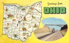 sub014313 - Greetings from Ohio, USA  Postcard