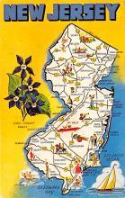 sub014325 - New Jersey, USA  Postcard