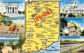 sub014379 - Indiana, USA  Postcard
