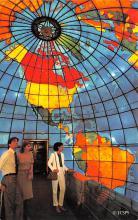 sub014397 - Mapparium-Western Hemisphere  Postcard