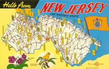 sub014433 - New Jersey the Garden State, USA  Postcard